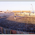 4x360 MW Afsin-Elbistan B Thermal Power Plant. Foundation of 150 mt Stack