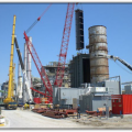 Camis Electric Mersin-2 Plant. Installation of Economizer