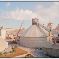CIMSA Cement Mersin Plant. Clinker Stock Hall