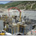 Ermenek HEPP. Construction of Power House