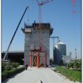 Hidiroglu Food Industries, tarsus. Slipform Construction of the Flour Silos