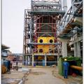 SODA Industries 18.5 MW Power Plant, Mersin. Installation of Boiler