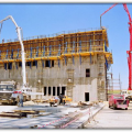 4x360 MW Afsin-Elbistan B Thermal Power Plant. Construction of Coal Bunker Buildings