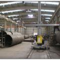 Lamas III-IV HEPP. Installation of Penstock Pipes
