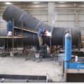 Lamas III  VI HEPP. Manufacturing of Bifurcation