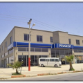 Peugeot Auto, Mersin. Construction of Sales Showroom and Service Center