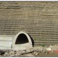 Podkova-Makaza Boundary Road, Bulgaria. Construction of Arch Culverts