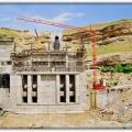 Santral Binası İnşaatı, Tohma HES